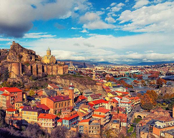 Tbilisi background image